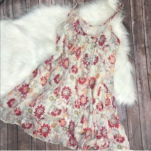 Dresses & Skirts - Free People Floral Paisley Boho Midi Dress